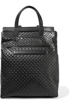 Alexander WangPrisma embossed leather backpack Designer Clothes Sale c58df593d60c1