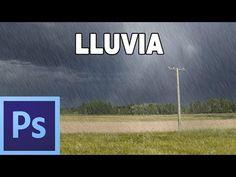 ▶ Como hacer efecto de lluvia - Tutorial Photoshop en Español por @Natalia P Tutoriales (HD) - YouTube