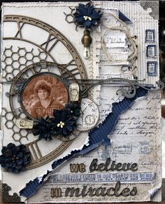 We believe in Miracles ***Maja Design***Dusty Attic*** - Scrapbook.com