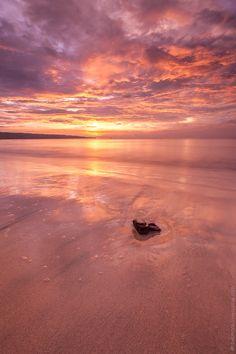 Bali Sunset by Michael Shmelev, via 500px