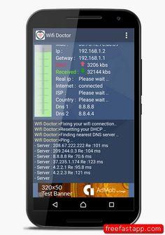 تحميل تطبيق WiFi Doctor التحكم بالشبكات واي فاي اندرويد  صورة للبرنامج
