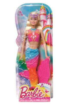 Mattel 'Barbie® Rainbow Mermaid' Doll available at #Nordstrom