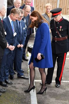 Kate Middleton Got Her Heel Stuck in a Grate This Morning, Handled It with Perfect Grace