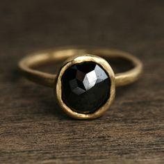 Black diamond ring---Yasuko Azuma