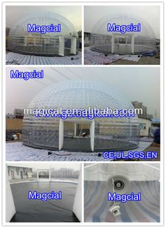 Clear inflatable igloo tent / clear bubble tent, View clear inflatable tent, Magical Inflatale Product Details from Guangzhou Magical Inflatable Co., Ltd. on Alibaba.com