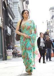 sridevi english vinglish - beautiful floral saree