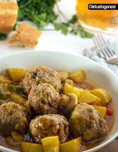 Swedish meatball admission: They're Turkish Meat Recipes, Wine Recipes, Appetizer Recipes, Mexican Food Recipes, Cooking Recipes, Healthy Recipes, Ethnic Recipes, Good Food, Yummy Food
