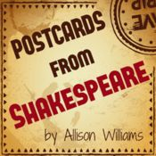 Postcards from Shakespeare