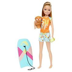 Check out the Barbie Dolphin Magic Stacie Doll at the official Barbie website. Explore the world of Barbie Dolphin Magic today! Barbie Kids, Barbie And Ken, Doll Clothes Barbie, Barbie Dolls, Barbie Stuff, Barbie Stacie Doll, Barbie Shop, Barbie Party, Accessoires Barbie