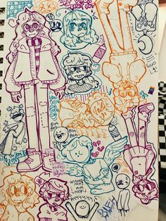 Cute Art Styles, Cartoon Art Styles, Art Drawings Sketches Simple, Cute Drawings, Arte Sketchbook, Sketchbook Inspiration, Marker Art, Art Reference Poses, Character Art