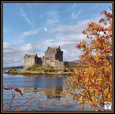 #eileandonancastle #autumn #autumnal #castle #ukpotd_22 Photos from my travels