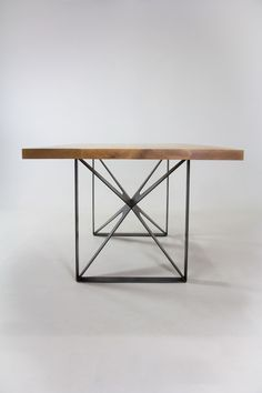 Criss-Cross Table by Good Design Collective, via Behance