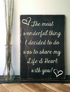 The most wonderful things ever, which will lead to the most wonderful life together $$$XXX$$$