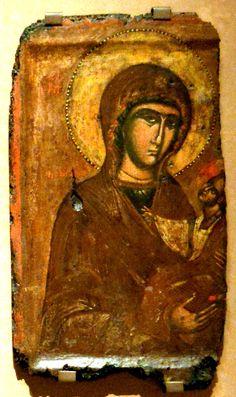 Богоматерь с младенцем 15 века. Virgin and Child, 15th cent.
