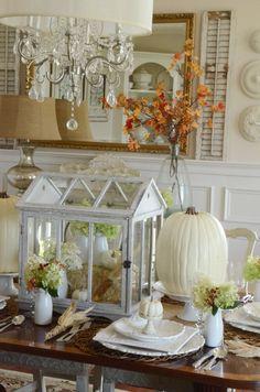 Thanksgiving In The Dining Room-greenhouse-stonegableblog.com