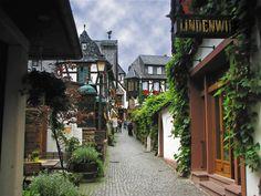 Rüdesheim am Rhein es una ciudad situada en el centro de Alemania, en el estado federado de Hesse
