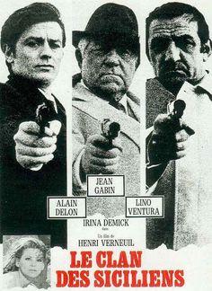 Le Clan Des Siciliens - three of the best french actors - Alain Delon, Jean Gabin, Lino Ventura