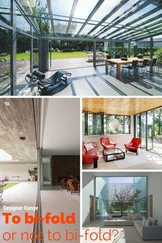 To bi-fold or not to bi-fold? Blog By @designerrange #bifold #doors #windows #panoramah #slimslider