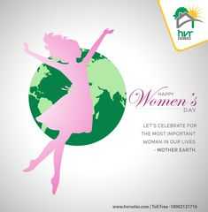 Let's celebrate for the most important woman in our lives - Mother Earth.  HVR Solar Pvt. Ltd. Wishes  Happy Women's Day | 8th March Switch to SOLAR || Save Energy || Save Money #HVR #WomensDay #WomensDay2018 Women's Day 8 March, 8th March, Happy Woman Day, Save Energy, Ladies Day, Solar Panels, Mother Earth, Our Life, Saving Money