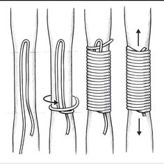 to Make a Bow and Arrow By Hand - - How to Make a Bow and Arrow By Hand – -How to Make a Bow and Arrow By Hand - - How to Make a Bow and Arrow By Hand – - Paracord Handle Wrap Procedure Archery Bows, Traditional Archery, Macrame Knots, Survival Skills, Survival Weapons, Survival Gear, Wilderness Survival, Survival Prepping, Camping Survival