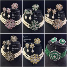 #sets #necklace #earrings #zircon #chokers #highquality #richlook  #Beautiful #lovely #elegant #festive #wedding #trendy #designer #exclusive #statement #latest #design #ethnic #traditional #modern #indian #divaazfashionjewellery available Grab them fast 😍😍 Inbox for orders & more details plz Or mail at npsales421@gmail.com Festive, Ethnic, Chokers, Necklaces, Indian, Traditional, Elegant, Detail, Modern