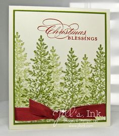 stampin up lovely as a tree images | Lovely as a Tree Christmas - Jill's, Ink.