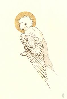 The Boy with Wings for Arms