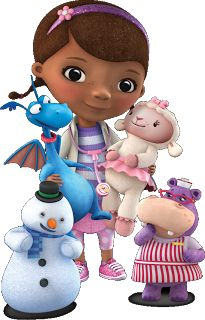 Making My Party!: Doctor Toys (Doc Mcstuffins) - Complete Kit with frames for invitations, labels for snacks, souvenirs and pictures!