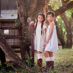Beautiful photo by Gina Gutekunst Photography #bluponyvintage #farmlife #magnoliamarket #farm #spring #summer #girlsdresses #dresses #child #childrensfashion #childrensclothing