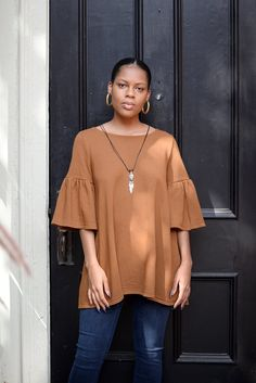 1b07557be71 Boohoo Lacey Flared Sleeve Bardot Top Stone Size UK 10 LF085 JJ 08 #fashion  #clothes #shoes #accessories #womensclothing #topsshirts (…