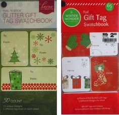 115 Foil and Glitter Christmas Gift Tags => Additional details found at the image link  : Christmas Gifts