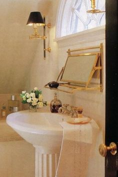 A Proper Gentleman's Bathroom | Content in a Cottage