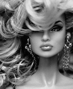 """Glamourous.     And also the first """"sexy"""" barbie I've ever seen."""