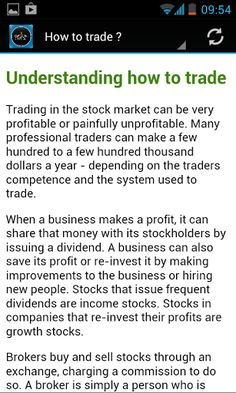 Different option trading strategies