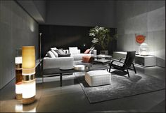 Explore the Design History of the Modern Italian Sofa. With Esperiri as your Guide, you can Find Your Ideal Italian Contemporary Sofa in Italy! Italian Leather Sofa, Italian Sofa, Italian Furniture, Urban Apartment, Apartment Design, Hall Design, Sofa Design, Living Room Designs, Living Spaces