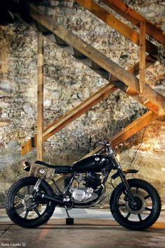 1989 Yamaha SR250 - Lab Motorcycles - Cafe Racer Culture