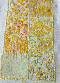 yellow sampler 3 by miriamjoy