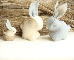 Rabbit Soft Bunny Stuffed Toy by Sisters Dreams. Posted on Craftsy. They have lots of other soft animals that are just as darling.