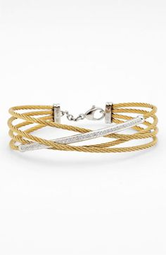 Charriol 'Classique' Crossover Cable Bangle