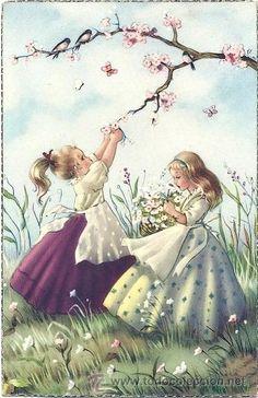 Charming girls...vintage...