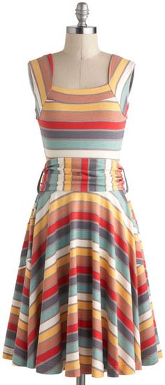 Guest Of Honor Dress in Stripes - Lyst