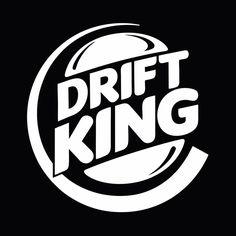 Drift King JDM Drifting Stance Car Window Bumper Vinyl Decal Sticker #Oracal