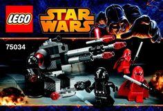 Star Wars Episode 4-6 - Death Star Troopers [Lego 75034]