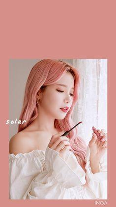Mamamoo Solar, Kpop Girl Groups, Korean Girl Groups, Kpop Girls, Mamamoo Kpop, Sun Solar, Fandom, E Dawn, Girl Themes