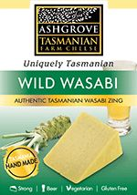 Wild Wasabi cheese from Ashgrove, great with sushi or melted into mashed potato