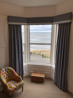 made to measure curtains made for our clients beautiful homes for more info email amanda@amandabakersofturnishings.co.uk Window Pelmets, Bay Window Curtains, Pelmet Designs, Curtain Pelmet, Bay Window Living Room, Victorian Living Room, Living Room Decor On A Budget, Cupboard Design, Made To Measure Curtains