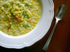 Peruvian Quinoa Corn Chowder by cravinggreens #Peru #Soup #Corn_Chowder