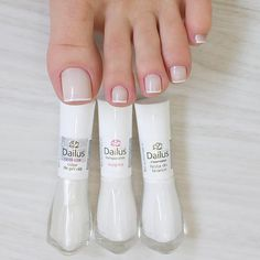 Love squared toes and straight white for French pedi. French Pedicure, French Nails, Manicure And Pedicure, Acrylic Toes, Cute Acrylic Nails, Joy Nails, Beauty Nails, Pretty Nail Colors, Pretty Nails