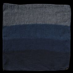 Unionmade Indigo Waters bandana, $60    • It says bandana but can we all agree it would make a great pocket square?
