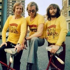 The Goodies. Their show in the 70's was so funny.